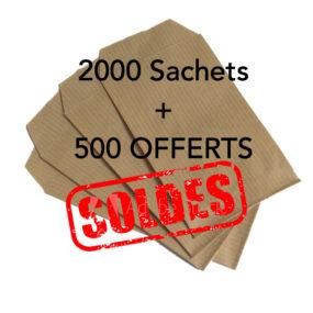 Sachets Kraft 2500Pcs