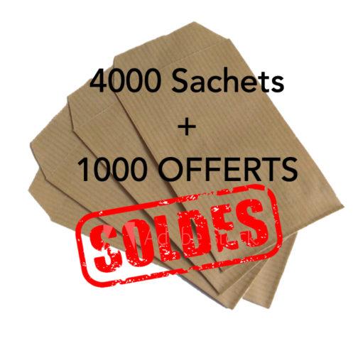5000 sachets kraft