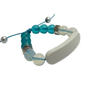 Bracelet Bleu & Blanc