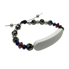 Bracelet Noir & Rouge