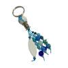 Porte-clés bleu 1 à personnalisé
