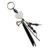 Porte-clés noir à personnalisé