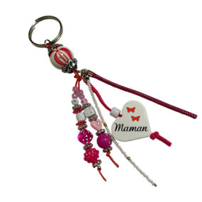 Porte-clés Rose