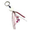 Porte-clés rose 2 à personnalisé