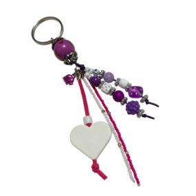 Porte-clés Violet
