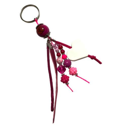 Porte-clés violet 3 à personnalisé