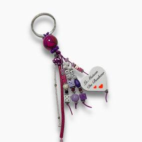 Porte-clés Violet PR02