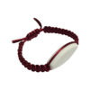 bracelet macramé Bordeau à personnalisé aysun