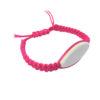 bracelet macramé rose à personnalisé aysun
