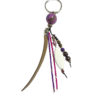 Porte-clés violet 4 à personnalisé